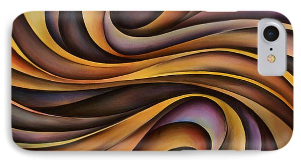 Abstract Design 31 Phone Case by Michael Lang