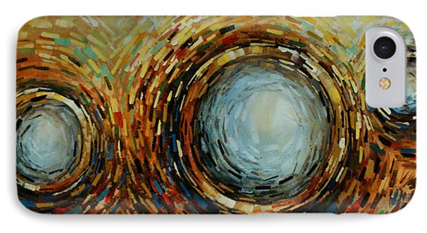 Abstract Design 68 Phone Case by Michael Lang