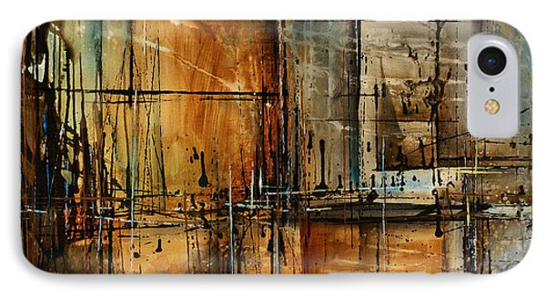Abstract Design 76 Phone Case by Michael Lang