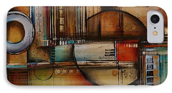 Abstract Design 77 Phone Case by Michael Lang