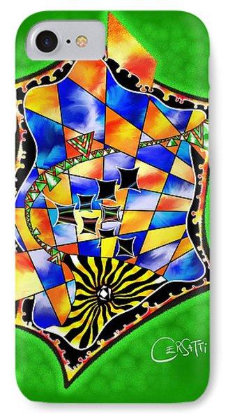 Abstract Digital Art - Stavoris V3 IPhone Case
