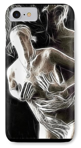 Abstract Digital Artwork Of A Couple Making Love Phone Case by Oleksiy Maksymenko