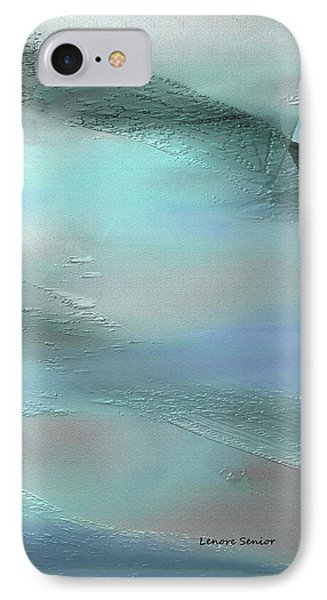 Abstract - Duct Tape IPhone Case by Lenore Senior