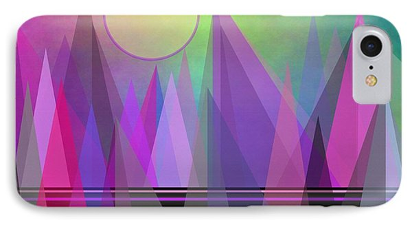 Abstract Elevation IPhone Case by Kathleen Sartoris