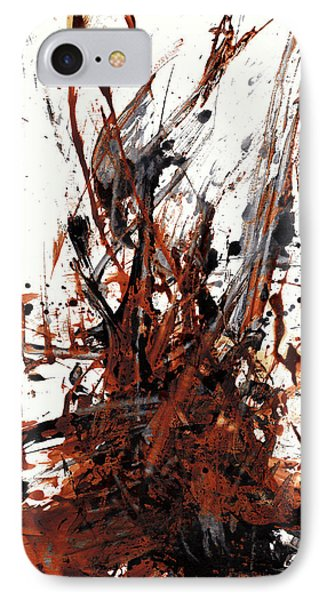 Abstract Expressionism Painting 50.072110 IPhone Case