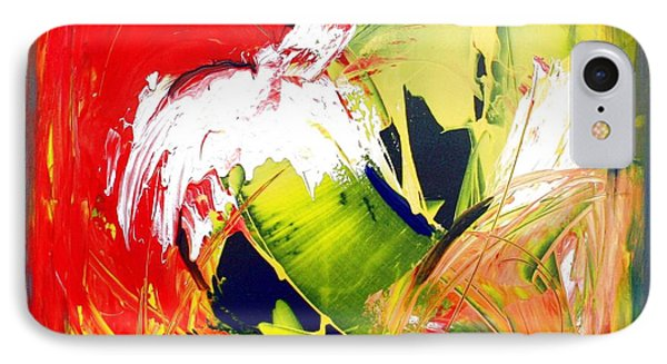 Abstract Fine Art Print - Gestural Abstraction Phone Case by Mario Zampedroni