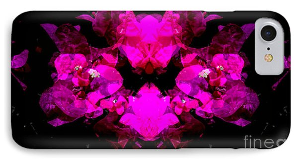Abstract Floral No.2 IPhone Case