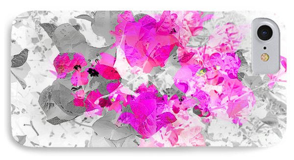 Abstract Floral No.4 IPhone Case