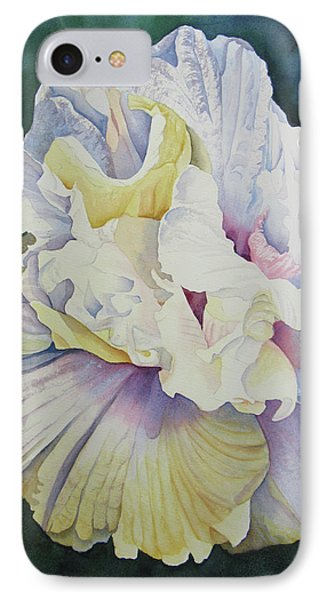 IPhone Case featuring the painting Abstract Floral by Teresa Beyer