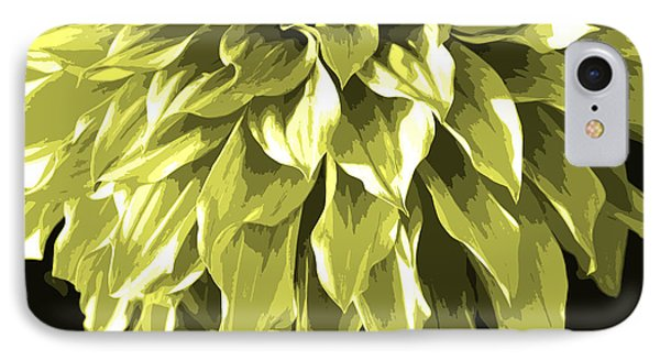 Abstract Flower 5 IPhone Case by Sumit Mehndiratta
