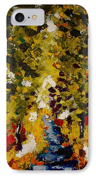 IPhone Case featuring the painting Abstract Forest #1 by Zeke Nord
