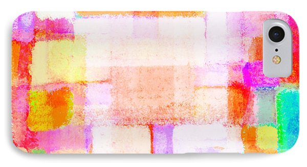 Abstract Geometric Colorful Pattern IPhone Case by Setsiri Silapasuwanchai