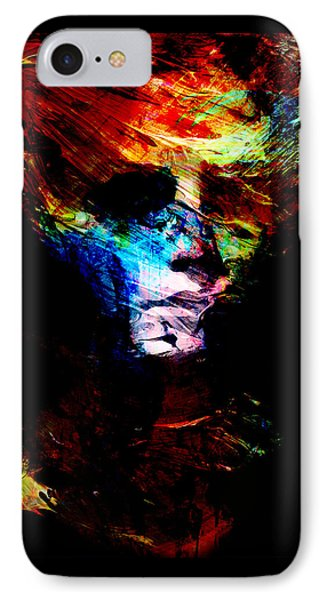 Abstract Ghost IPhone Case by Marian Voicu