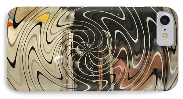 Abstract Glass 3 Phone Case by Marty Koch
