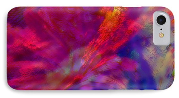 Abstract Gypsy Flower IPhone Case
