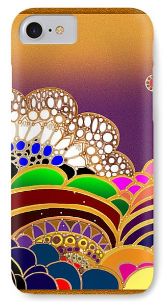 Abstract Happy IPhone Case by Vivian Rayford