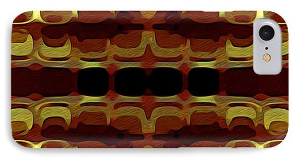Abstract Horizontal Tiles - Harvest 1977 IPhone Case by Jason Freedman