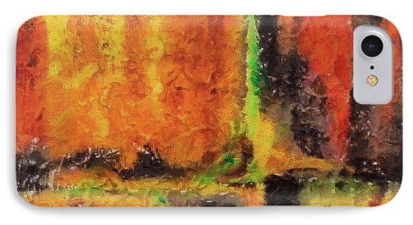 IPhone Case featuring the mixed media abstract I by Dragica  Micki Fortuna