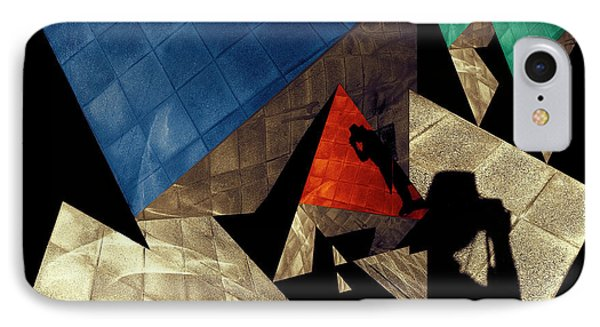 IPhone Case featuring the photograph Abstract Iterations by Wayne Sherriff