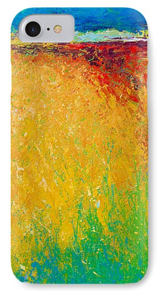 Abstract Landscape 1 IPhone Case by Marion Rose
