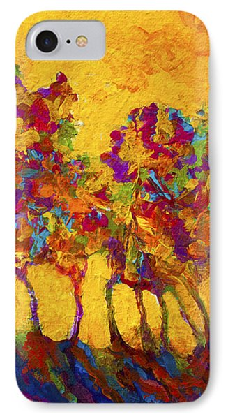 Abstract Landscape 3 IPhone Case by Marion Rose