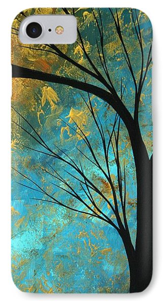 Abstract Landscape Art Passing Beauty 3 Of 5 Phone Case by Megan Duncanson