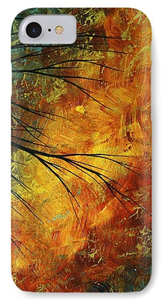 Abstract Landscape Art Passing Beauty 5 Of 5 Phone Case by Megan Duncanson