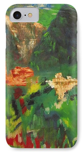 Abstract Landscape IPhone Case by Patricia Cleasby