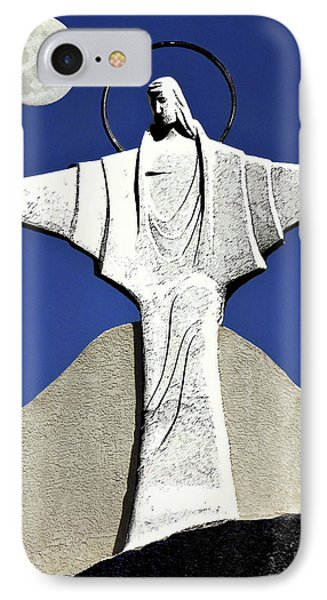 Abstract Lutheran Cross 5 Phone Case by Bruce Iorio