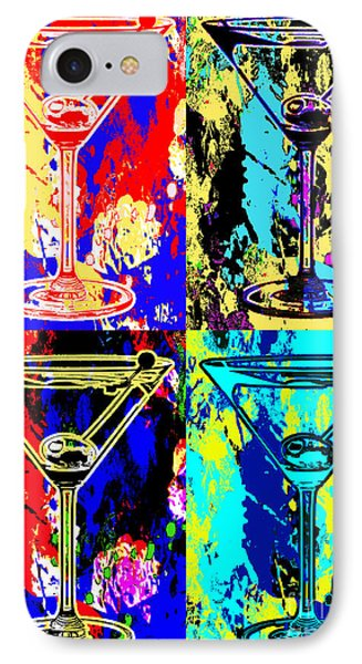 Abstract Martini's IPhone Case