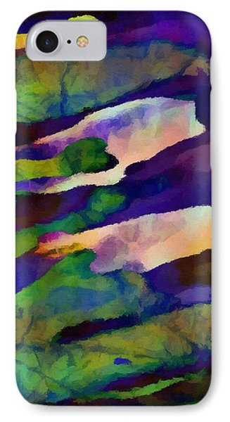 Abstract Merging. IPhone Case