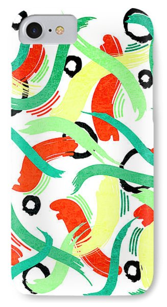 Abstract Motion - Horizontal IPhone Case