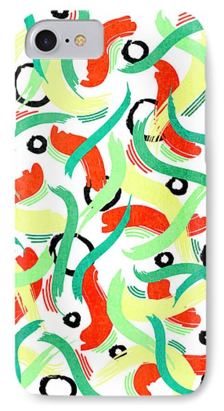 Abstract Motion - Vertical IPhone Case
