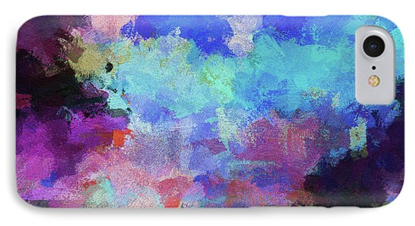 Abstract Nature Painting IPhone Case by Ayse Deniz