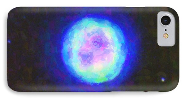Abstract Nebulla With Galactic Cosmic Cloud 42 Sphere 2 IPhone Case by Celestial Images
