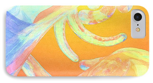 Abstract Number 1 IPhone Case by Peter J Sucy