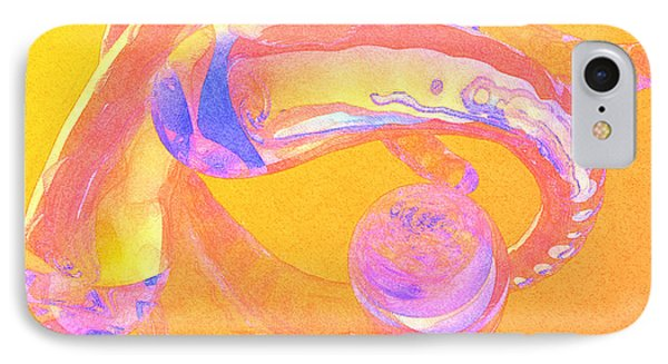 IPhone Case featuring the painting Abstract Number 2 by Peter J Sucy