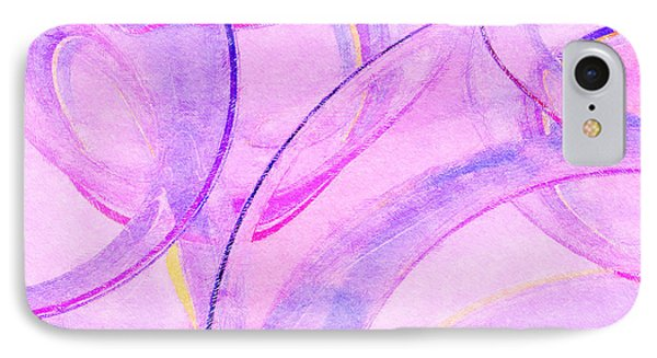 IPhone Case featuring the painting Abstract Number 20 by Peter J Sucy