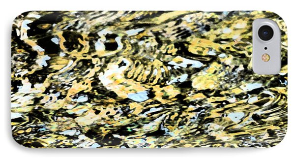 Abstract Of Merced River IPhone Case