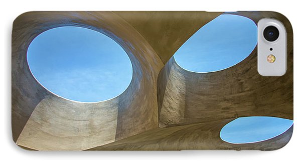 Abstract Of The Roof IPhone Case by Gary Slawsky