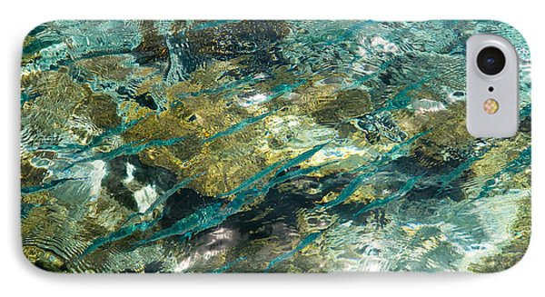 Abstract Of The Underwater World. Production By Nature Phone Case by Jenny Rainbow