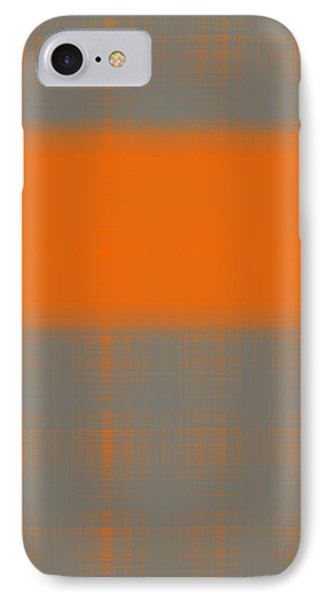 Abstract Orange 3 IPhone Case by Naxart Studio