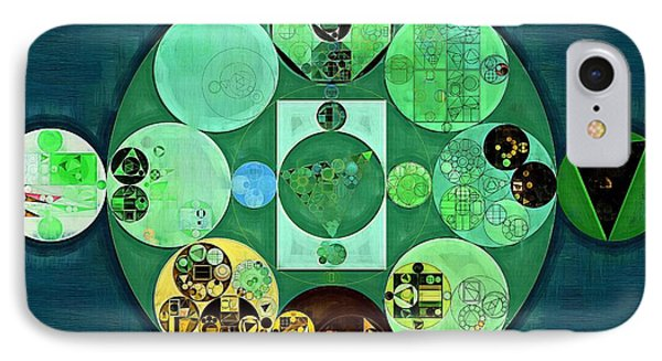 Abstract Painting - Amazon IPhone Case by Vitaliy Gladkiy