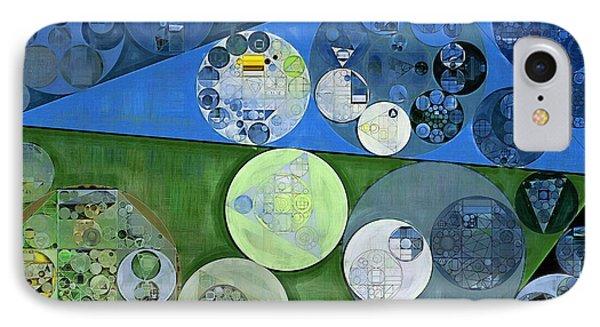 Abstract Painting - Burnham IPhone Case by Vitaliy Gladkiy