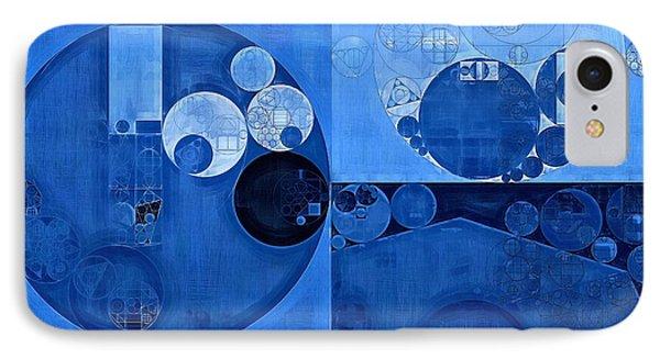 Abstract Painting - Denim IPhone Case by Vitaliy Gladkiy