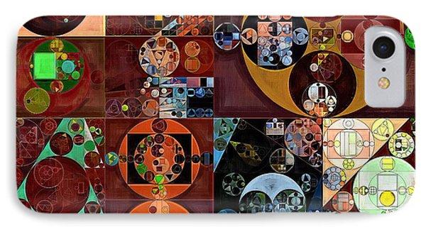 Abstract Painting - Desert IPhone Case by Vitaliy Gladkiy
