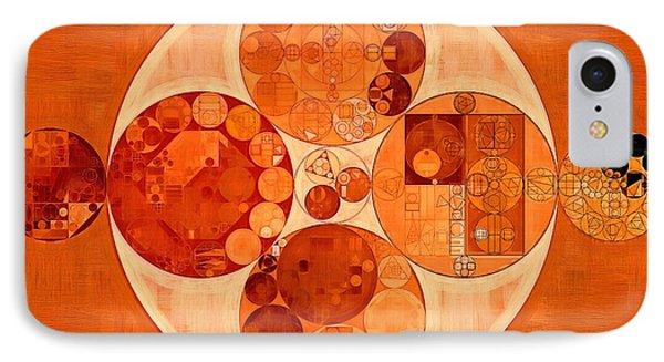 Abstract Painting - Mahogany IPhone Case