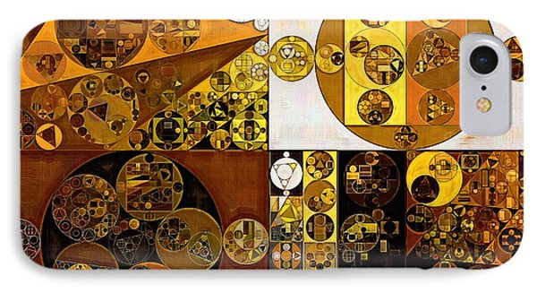 Abstract Painting - Pirate Gold IPhone Case by Vitaliy Gladkiy