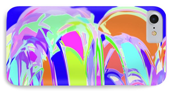 Abstract Painting IPhone Case by Ralph Klein
