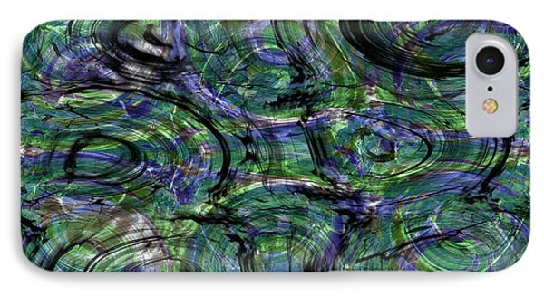 Abstract Pattern 5 IPhone Case by Jean Bernard Roussilhe